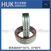 HUK油封TC氟胶骨架油封型号多种可加工定制完工迅速图片