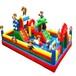 儿童充气城堡室外大型蹦蹦床大滑梯户外气模玩具