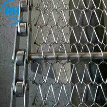 热销输送机工业流水线配件清洗机输送带304不锈钢网链网带