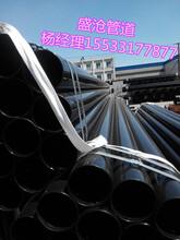河北盛沧DN125电缆电力涂塑钢管出厂价格