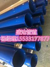 河北盛沧DN200大口径涂塑钢管优点介绍
