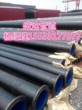 厂家直销盛沧DN125矿用双抗涂塑管