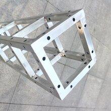 热镀锌方管桁架搭建铝合金婚庆舞台背景广告桁架钢铁桁架厂家直销