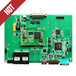 南京品尼科PPC-6516-C工业板卡自愈环网100/10M自适应电口x3