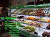 山东烟台超市3米风幕柜多少钱?水果保鲜柜哪里有卖的?