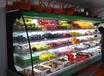 专业生产山东烟台水果店保鲜柜,厂家全国物流发货。