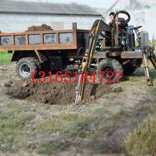 农用四驱四不像随车挖液压支腿5米大臂运输挖掘一体四不像车图片