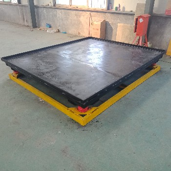 厂家定做混凝土震动平台预制件成型设备震动平台