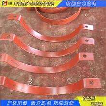 公司現貨供應管道管夾化工部標準A5型雙螺栓管夾圖片