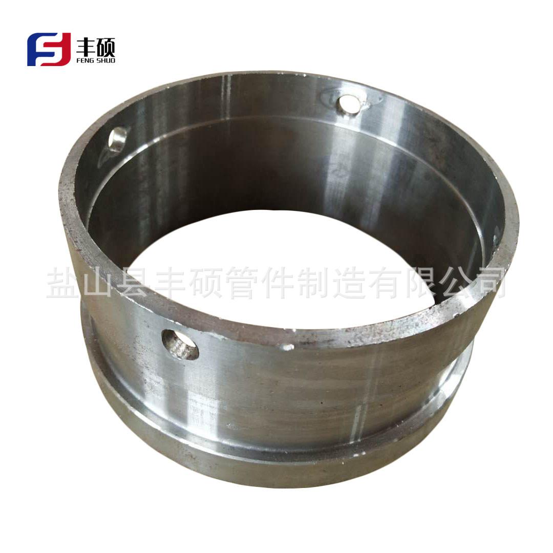 厂家直销混凝土输送地泵管接头焊接法兰车泵管管箍法兰DN125砼泵配件