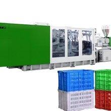 黑色一次性塑料水果蔬菜筐全自动生产机器TH520水果筐机器图片