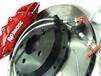 大众CC刹车升级改装AP9040六活塞刹车套装。