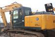 西安个人二手挖掘机二手现代225挖掘机车况好