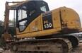 扬州工地车二手小松130-7挖掘机车况好