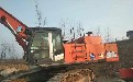 钦州工地车二手日立470挖掘机全国运输