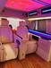 大捷龍商務車內飾改裝升級航空座椅改裝木地板改裝