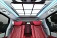 別克GL8內飾改裝全套升級航空座椅木地板九宮格扶手冰箱