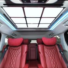 别克GL8内饰改装全套升级航空座椅木地板九宫格扶手冰箱图片