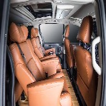 豐田塞納商務車內飾改裝升級航空座椅木地板九宮格頂