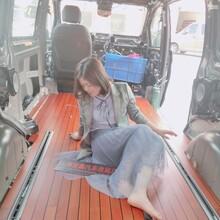 商务车汽车内饰改装实木地板柚木地板升级改装航空座椅图片