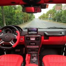 奔驰G500改装座椅内饰翻新之后大变样_上海汽车改装厂图片