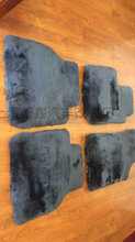 纯羊毛汽车脚垫专车专用羊毛地毯垫羊绒脚垫羊羔毛脚垫
