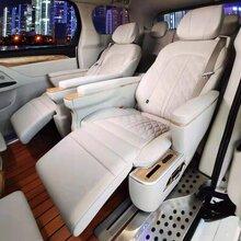 上海別克商務gl8內飾改裝升級航空座椅沙發座椅木地板頂燈