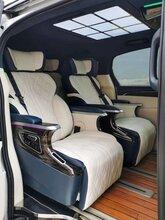 別克GL8ES陸尊653t改裝內飾升級航空椅沙發床木地板