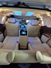 豐田塞納內飾翻新改裝升級航空座椅木地板沙發床