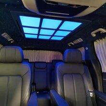 傳祺GM8內飾升級改裝實木地板航空座椅星空頂