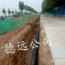 室外埋地给水系统用PE给水管PE排水管图片
