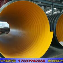 永城市政钢带排污水管生产厂家图片