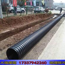 镇平pe钢带波纹管污水管价格图片