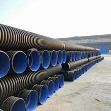 登封HDPE雙壁波紋管生產廠家規格齊全波紋管廠家質量保障圖片