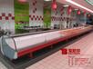 黄山鲜肉柜宝尼尔款式订做厂家直销,鲜肉柜的尺寸