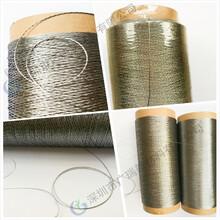 耐高温金属线、金属绳、金属带、金属布、高温金属套管