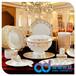 景德镇高档陶瓷餐具手绘餐具手绘餐具批发