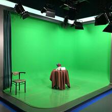 三维效果虚拟演播室新闻栏目虚拟高清演播室建设专业设计方案图片