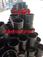 万达矿用管环氧树脂钢塑复合钢管厂家直销质量从优图片