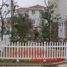 太原塑钢护栏山西白色草坪护栏新农村改造护栏供应图片