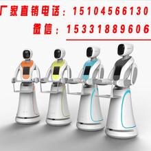 全国餐饮机器人性价比最好的厂家,无轨送餐机器人,无轨迎宾机器人,硅智科技