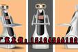 新一代点餐机器人,还能传菜,迎宾,发传单,远程监控等功能湖南省长沙市