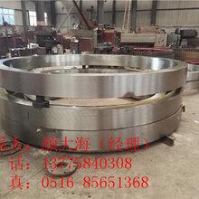 广西2.4米铸钢整体耐磨性较好的回转窑轮带图片