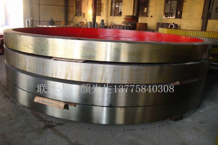 长治定制型铸钢材质烘干机轮带生产厂家
