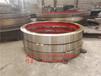 广西定制型非标1.7米烘干机配套铸钢烘干机滚圈烘干机挡轮总成