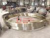广西单筒烘干机大齿轮烘干机滚圈支撑轮免费设计