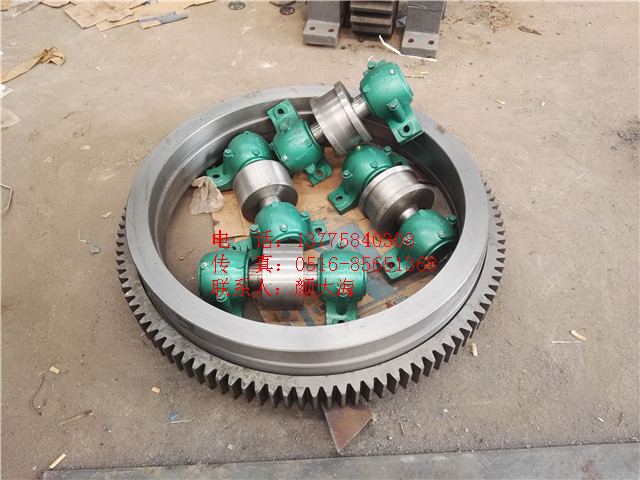 正火热处理HB175-200铸钢材质活性炭转炉拖轮快速非标定制交货期