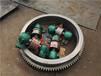 耐磨性較好使用壽命長脫硫石膏烘干機托輪擋輪烘干機擋輪總成配件