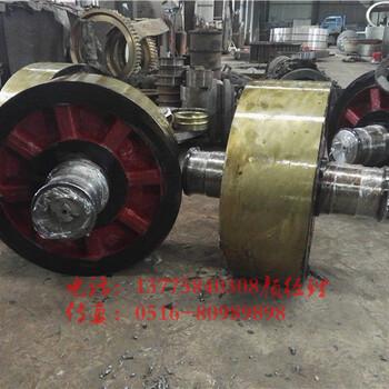 转轴式防窜动活性炭转炉拖轮可以产品现场测量报价