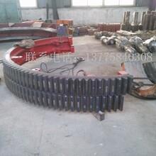 免费设计回转窑大齿圈小齿轮总成烘干机轮带制造工厂价格对比图片
